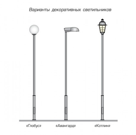 04 Зенит варианты светильников