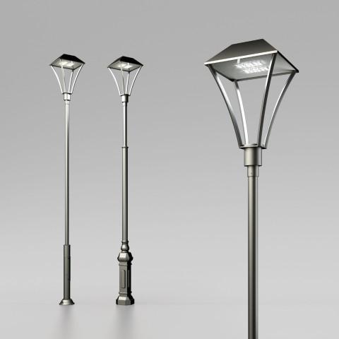 Светодиодная уличная опора освещения Оредеж LED
