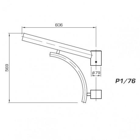 03 кронштейн Р1 76 чертеж