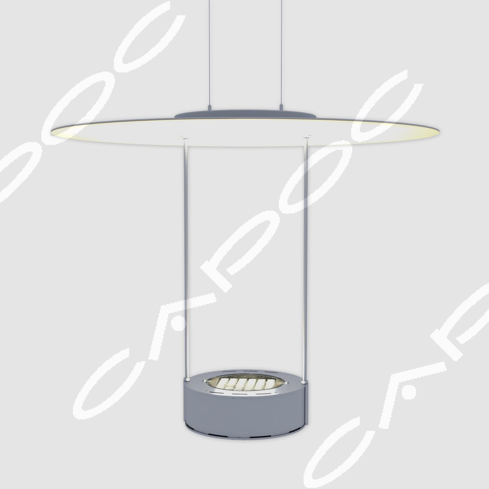 Светодиодный интерьерный подвесной светильник Пируэт